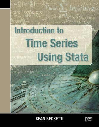 Introduction to Time Series Using Stata (Paperback) book cover