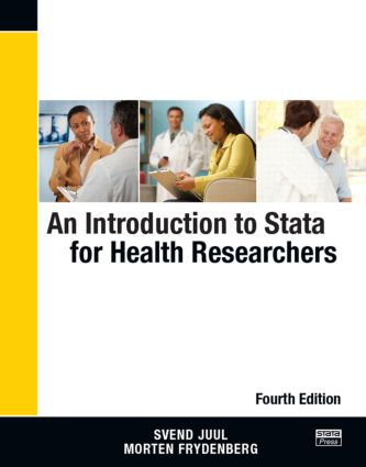 An Introduction to Stata for Health Researchers, Fourth Edition: 4th Edition (Paperback) book cover