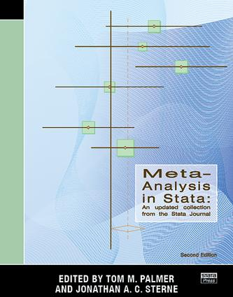 Meta-Analysis in Stata: An Updated Collection from the Stata Journal, Second Edition, 2nd Edition (Paperback) book cover