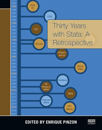 Thirty Years with Stata: A Retrospective, 1st Edition (Paperback) book cover