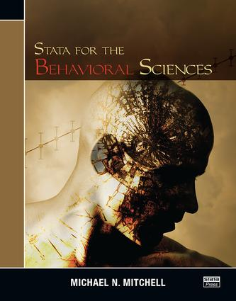 Stata for the Behavioral Sciences: 1st Edition (Paperback) book cover