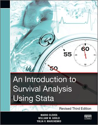 An Introduction to Survival Analysis Using Stata, Revised Third Edition: 4th Edition (Paperback) book cover