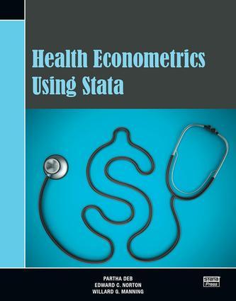 Health Econometrics Using Stata: 1st Edition (Paperback) book cover