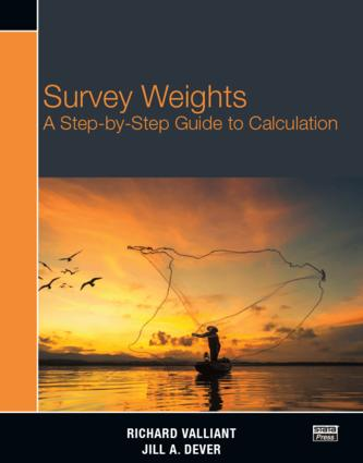 Survey Weights: A Step-by-step Guide to Calculation book cover