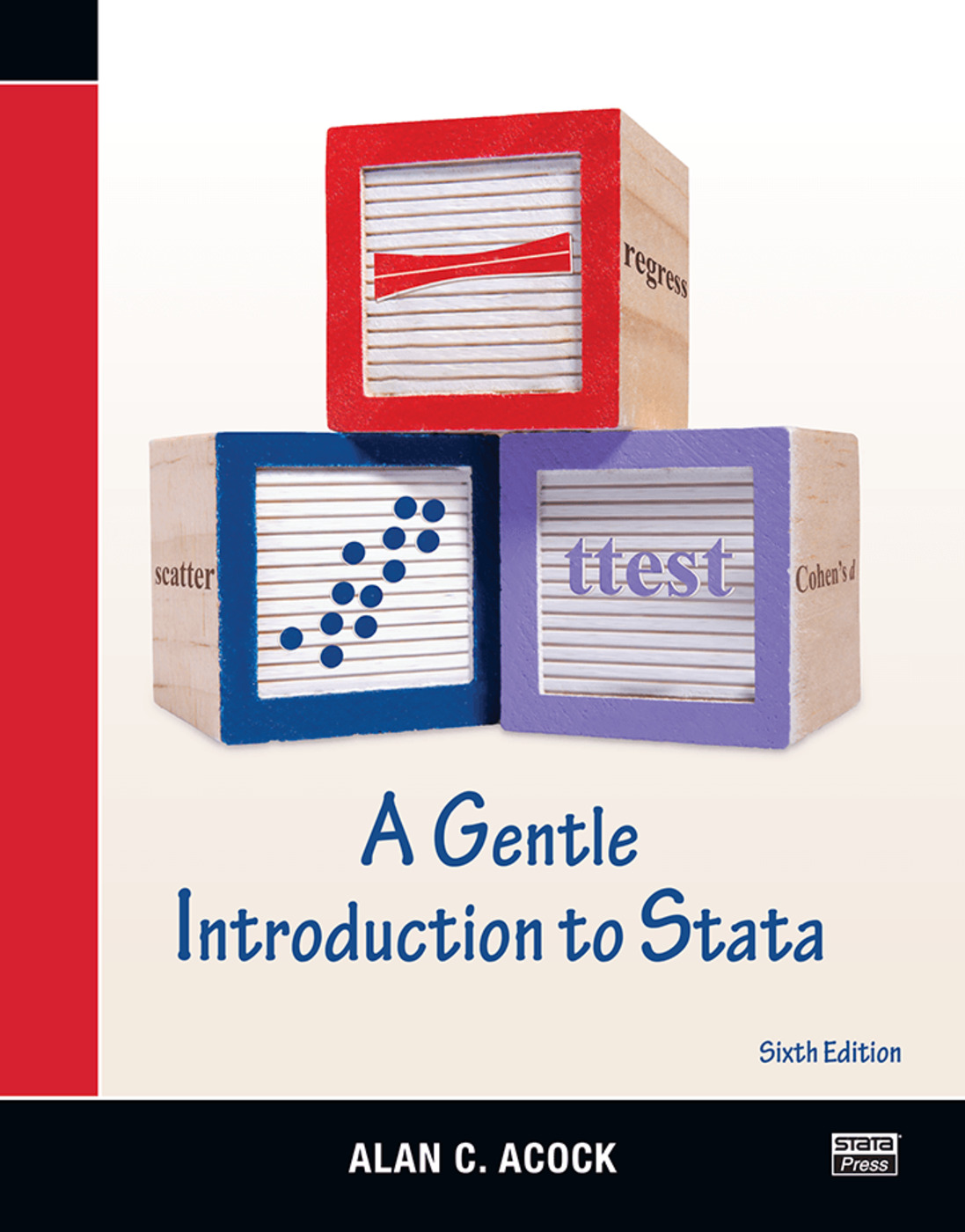 A Gentle Introduction to Stata: 6th Edition (Paperback) book cover