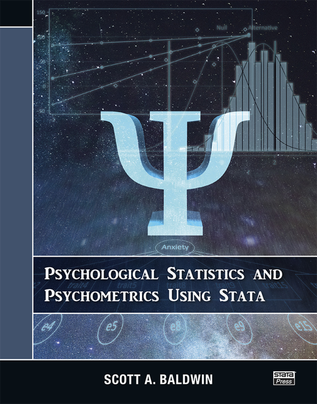 Psychological Statistics and Psychometrics Using Stata book cover
