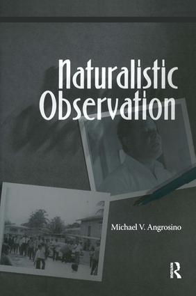 Naturalistic Observation: 1st Edition (Paperback) book cover