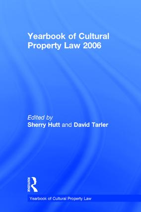 Yearbook of Cultural Property Law 2006