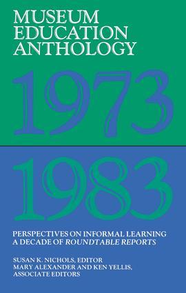 Museum Education Anthology, 1973-1983