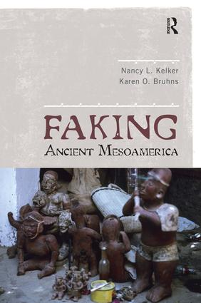 Faking Ancient Mesoamerica: 1st Edition (Paperback) book cover