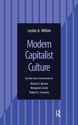 Modern Capitalist Culture