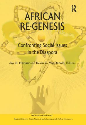 African Re-Genesis: Confronting Social Issues in the Diaspora, 1st Edition (Paperback) book cover
