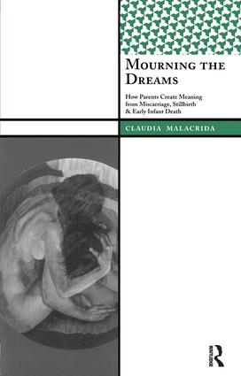 Mourning the Dreams: How Parents Create Meaning from Miscarriage, Stillbirth, and Early Infant Death, 1st Edition (Paperback) book cover