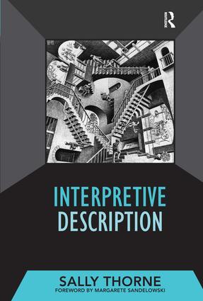 Interpretive Description: 1st Edition (Hardback) book cover