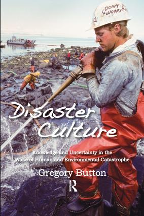 Disaster Culture: Knowledge and Uncertainty in the Wake of Human and Environmental Catastrophe, 1st Edition (Hardback) book cover