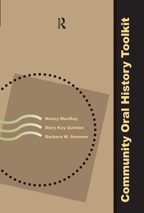 Community Oral History Toolkit: 1st Edition (Paperback) book cover