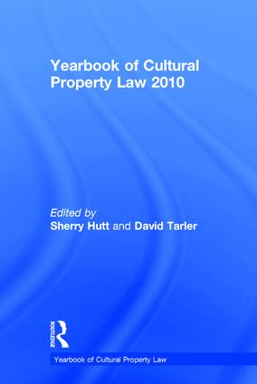 Yearbook of Cultural Property Law 2010 book cover