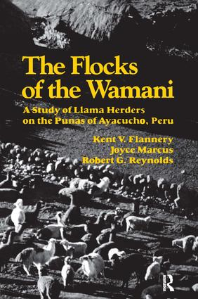 The Flocks of the Wamani: A Study of Llama Herders on the Punas of Ayacucho, Peru, 1st Edition (Paperback) book cover