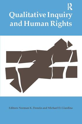 Qualitative Inquiry and Human Rights (Paperback) book cover