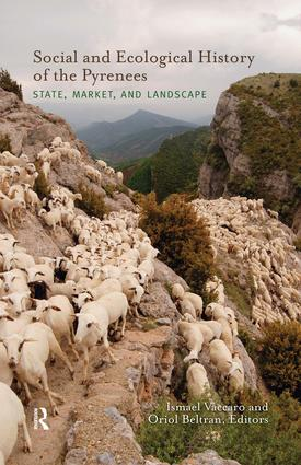 Social and Ecological History of the Pyrenees: State, Market, and Landscape, 1st Edition (Paperback) book cover
