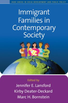 Immigrant Families in Contemporary Society (Paperback) book cover