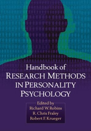 Handbook of Research Methods in Personality Psychology (Paperback) book cover