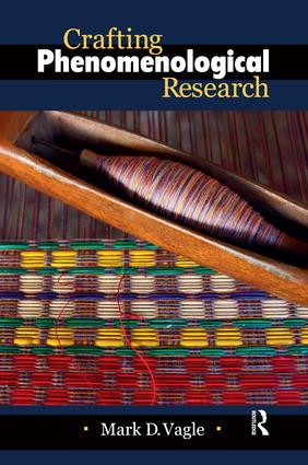 Crafting Phenomenological Research (Paperback) book cover