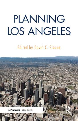 Planning Los Angeles: 1st Edition (Paperback) book cover