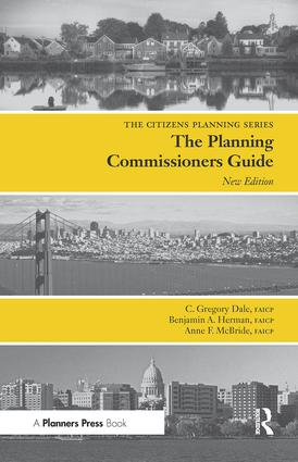 Planning Commissioners Guide: Processes for Reasoning Together, 2nd Edition (Paperback) book cover