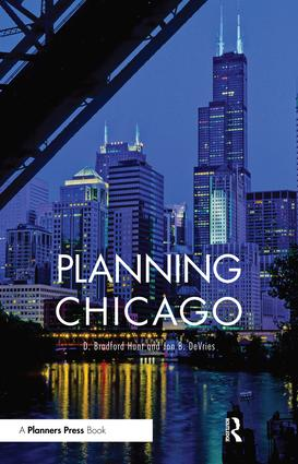Planning Chicago (Paperback) book cover