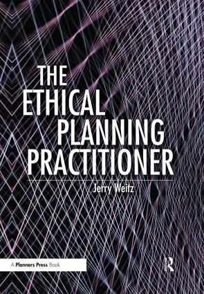 The Ethical Planning Practitioner (Paperback) book cover