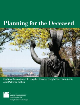 Planning for the Deceased (Paperback) book cover