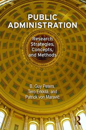 Public Administration: Research Strategies, Concepts, and Methods book cover