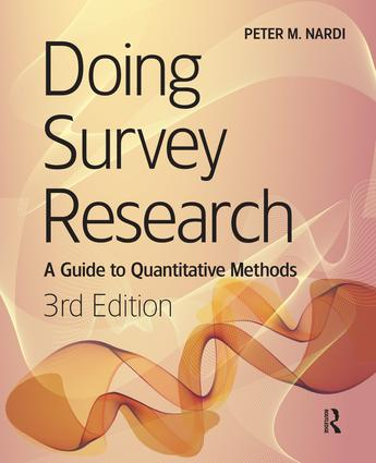 Doing Survey Research: 3rd Edition (Paperback) book cover