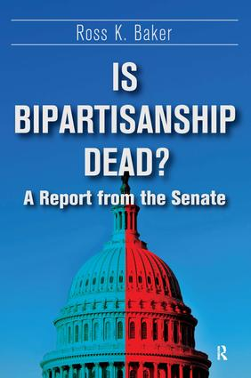 Is Bipartisanship Dead?: A Report from the Senate book cover