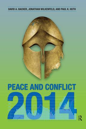 Peace and Conflict 2014 book cover