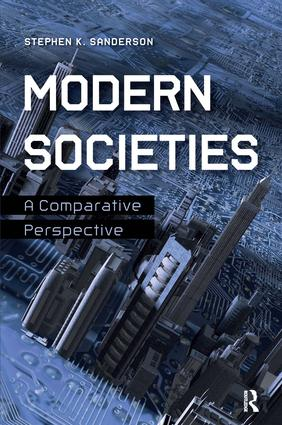 Modern Societies: A Comparative Perspective, 1st Edition (Paperback) book cover