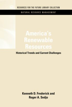 America's Renewable Resources: Historical Trends and Current Challenges (Hardback) book cover