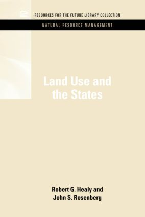 Land Use and the States: 2nd Edition (Hardback) book cover