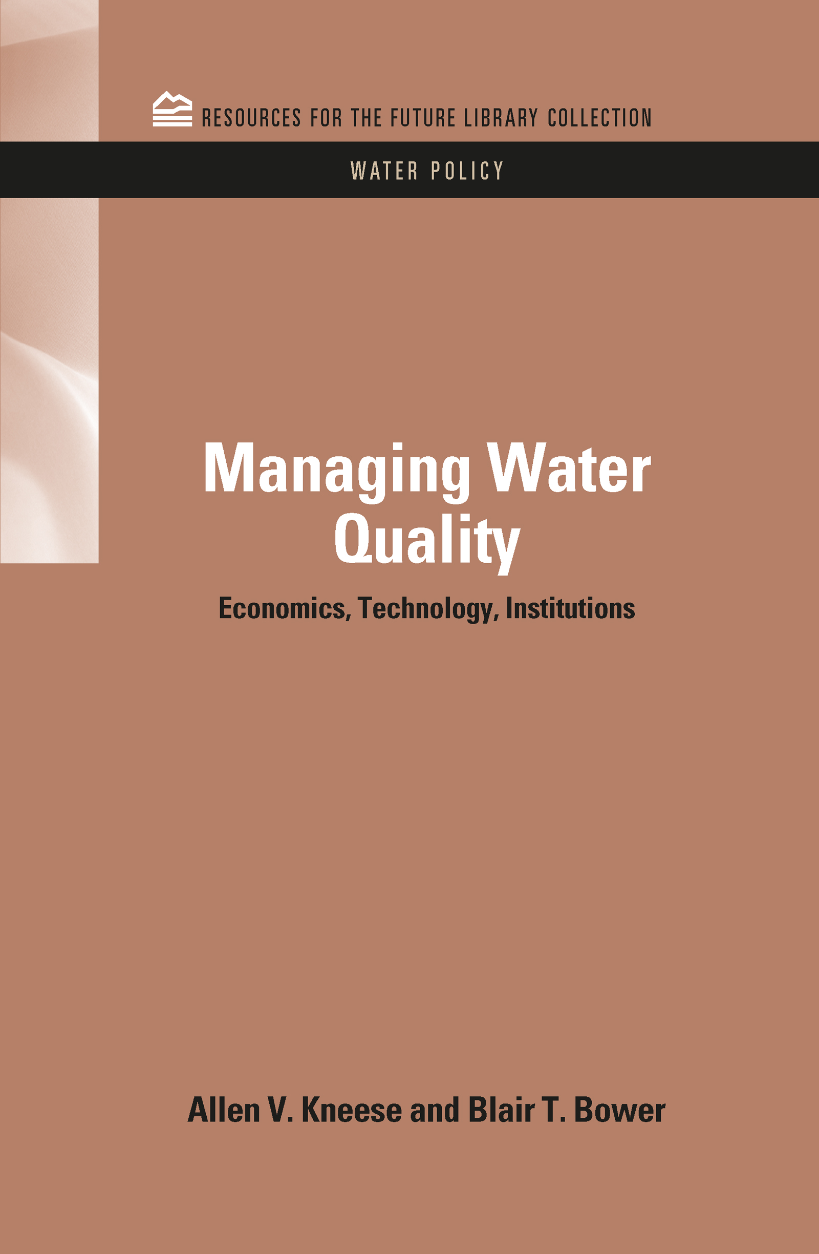 The Relation of Water Quality to Water Uses