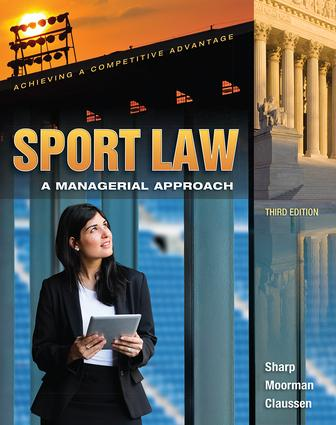 Sport Law: A Managerial Approach book cover