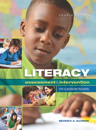 Literacy Assessment and Intervention for Classroom Teachers: 4th Edition (Paperback) book cover