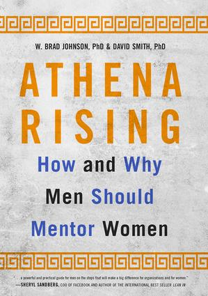 Athena Rising: How and Why Men Should Mentor Women (Enhanced eBook) book cover