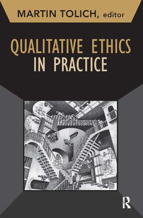Qualitative Ethics in Practice: 1st Edition (Paperback) book cover