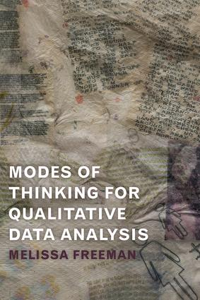 Modes of Thinking for Qualitative Data Analysis (Paperback) book cover