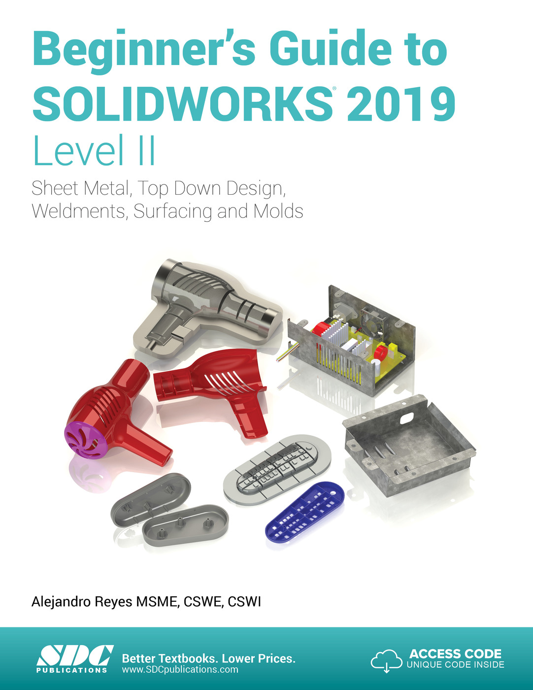 Beginner's Guide to SOLIDWORKS 2019 - Level II: 1st Edition (Paperback) book cover