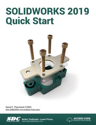 SOLIDWORKS 2019 Quick Start: 1st Edition (Paperback) book cover