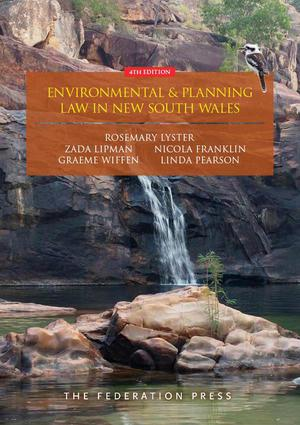 Environmental and Planning Law in New South Wales: 4th Edition (Paperback) book cover