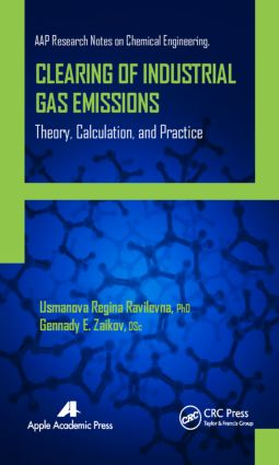 Clearing of Industrial Gas Emissions: Theory, Calculation, and Practice, 1st Edition (Hardback) book cover