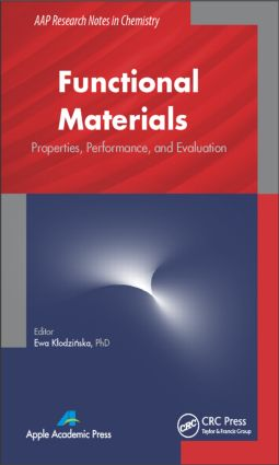Functional Materials: Properties, Performance and Evaluation book cover